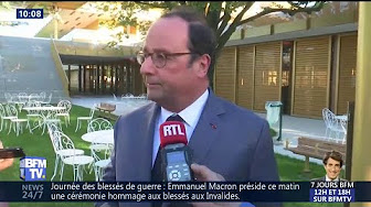 François Hollande envoie une nouvelle pique à Emmanuel Macron