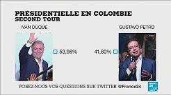 """Ivan Duque (""""droite dure"""") remporte la Présidentielle colombienne face à la gauche"""