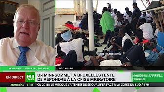 Jacques Myard : « L'Italie et les états du Visegrad ont compris qu'on est simplement à l'aube du flux migratoire »