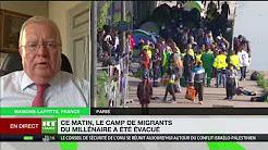 « Il faut que la France, l'Europe disent clairement (aux clandestins) : vous ne rentrez plus »