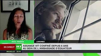 Stéphanie Gibaud : « Le cas de Julian Assange est terrifiant »
