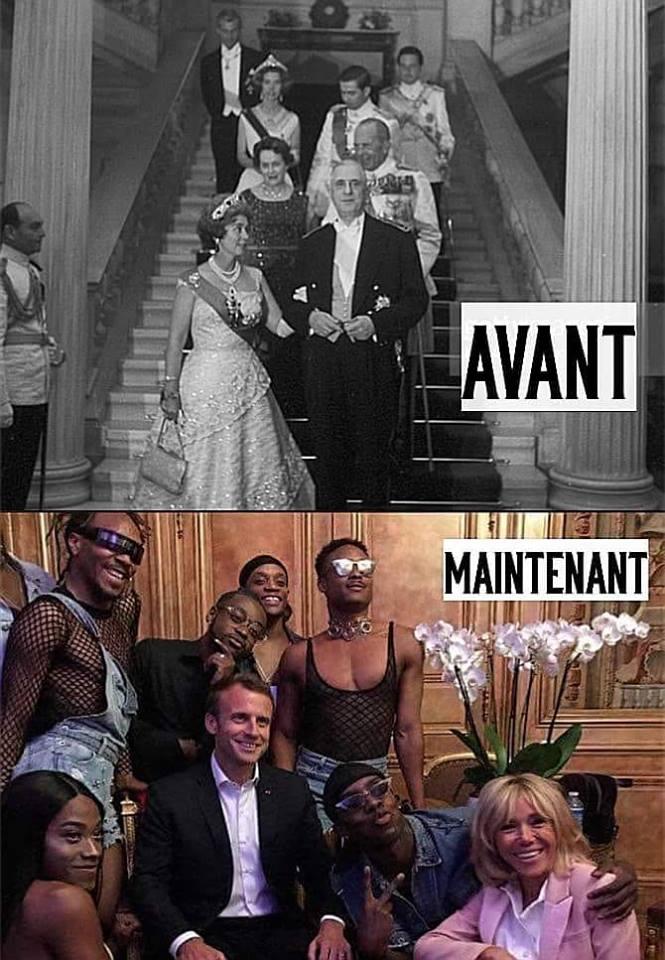 L'Élysée : avant et après