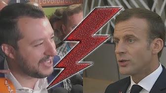 Matteo Salvini VS Emmanuel Macron (encore !)