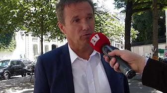 """Nicolas Dupont-Aignan : """"Je dirais que Buzyn est coupable mais elle n'est pas la seule"""" (VIDÉO)"""