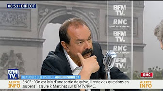 Philippe Martinez (CGT) n'exclut pas de nouvelles grèves à la SNCF