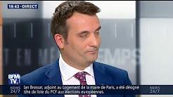"""Florian Philippot : """"Avec Marion Maréchal, on est en désaccord total"""""""