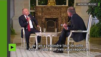« Laissez-moi parler ! » : interrompu, Poutine répond en allemand à un journaliste autrichien