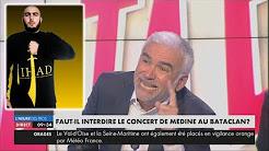 Pascal Praud s'insurge que Médine puisse se produire au Bataclan