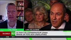Slovénie : le parti du conservateur Jansa arrive en tête aux législatives, l'UE inquiète