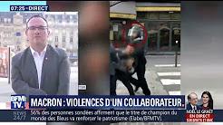 """Proche de Macron filmé frappant un manifestant: """"Sa sanction interroge par sa légèreté"""", estime Abad"""
