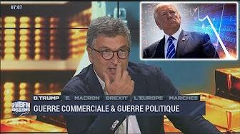 Le présentateur de BFM Business recadre un invité qui relativise les résultats de Trump