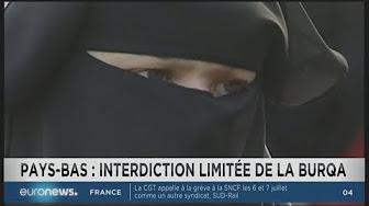 Aux Pays-Bas, le Sénat vote l'interdiction de la burqa dans les lieux publics