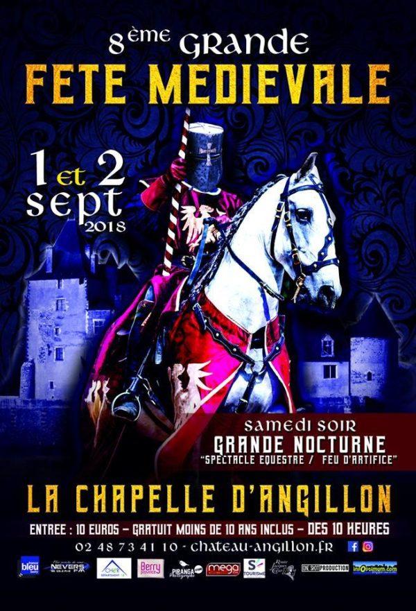 1er et 2 septembre : ne ratez pas la grande fête médiévale de La Chapelle d'Angillon