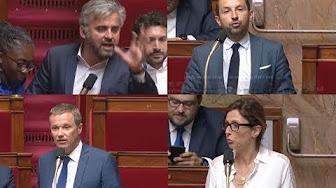 Affaire Benalla : Interventions de Chenu, Corbière, Dupont-Aignan… La colère gronde dans l'hémicycle