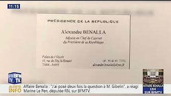 Alexandre Benalla se présentait dans une carte de visite avec un titre qui n'était pas le sien