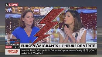 Invasion immigrée de l'Europe : Charlotte d'Ornellas VS Elsa Faucillon (PCF)