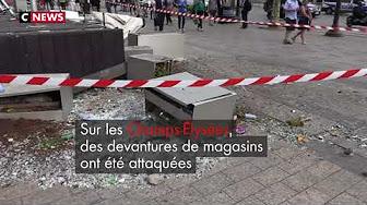 Dégâts colossaux à Paris au lendemain de la victoire des Bleus : de nouvelles images impressionnantes