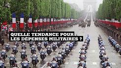 Dépenses militaires : quelle tendance en France et dans le monde ?