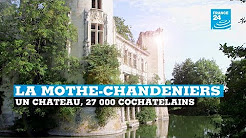 La Mothe-Chandeniers, un château, 27 000 cochâtelains