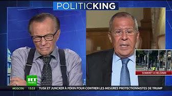 « Si ce n'est pas de la censure… » : Lavrov s'inquiète de la loi française contre les fake news