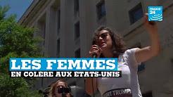 """France 24 titre """"États-Unis, les femmes en colère"""" parce que quelques centaines de femmes ont manifesté contre Trump"""