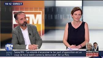"""Deux millions d'euros confisqués au RN (ex-FN) : """"Une décision trop rapide et trop brutale"""" (Robert Ménard), """"la présomption d'innocence mise à mal"""" (Emmanuelle Ménard)"""
