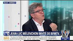 """Jean-Luc Mélenchon : """"Je ne peux rien pour Benoît Hamon et je crois que personne ne peut rien pour lui"""""""