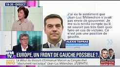 """Mélenchon : """"Tsipras est l'une des figures les plus minables de la vie politique européenne"""""""