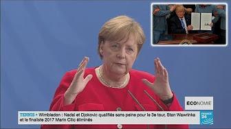 Suite aux menaces de Trump, Merkel prête à baisser les taxes européennes sur les automobiles américaines