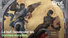 Sur des peintures iconiques, elle remplace des hommes blancs par des femmes noires... (vidéo)