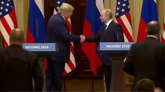 Les moments forts du sommet Trump-Poutine à Helsinki
