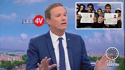 Nicolas Dupont-Aignan compare les demandeurs d'asile à des invités qui refusent de partir