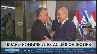 Rencontre cordiale entre Orban et Netanyahu unis contre l'islam radical