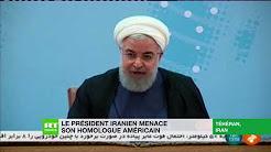 Le président iranien menace son homologue américain