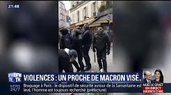 Violences du 1er-Mai: un proche de Macron visé