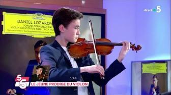 Le jeune prodige du violon