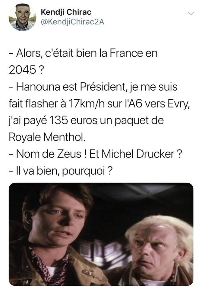 Retour vers le futur dans la France de 2045