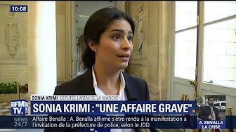 """Affaire Benalla : """"C'est une affaire grave"""", affirme Sonia Krimi, députée LaREM"""