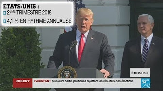 Le contraste est saisissant : Trump obtient une bien meilleure croissance aux USA que Macron en France