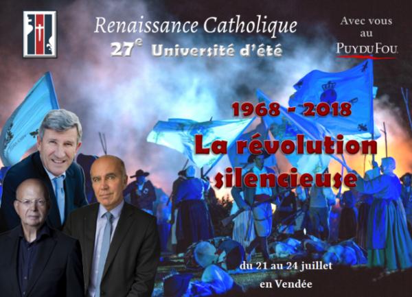 27e Université d'été de Renaissance Catholique