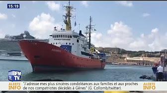 Près de la moitié des clandestins de l'Aquarius vont débarquer en France !