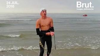 À 16 ans, Arthur Germain a traversé la Manche à la nage !