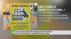 Tourisme de masse : les Barcelonais saturent