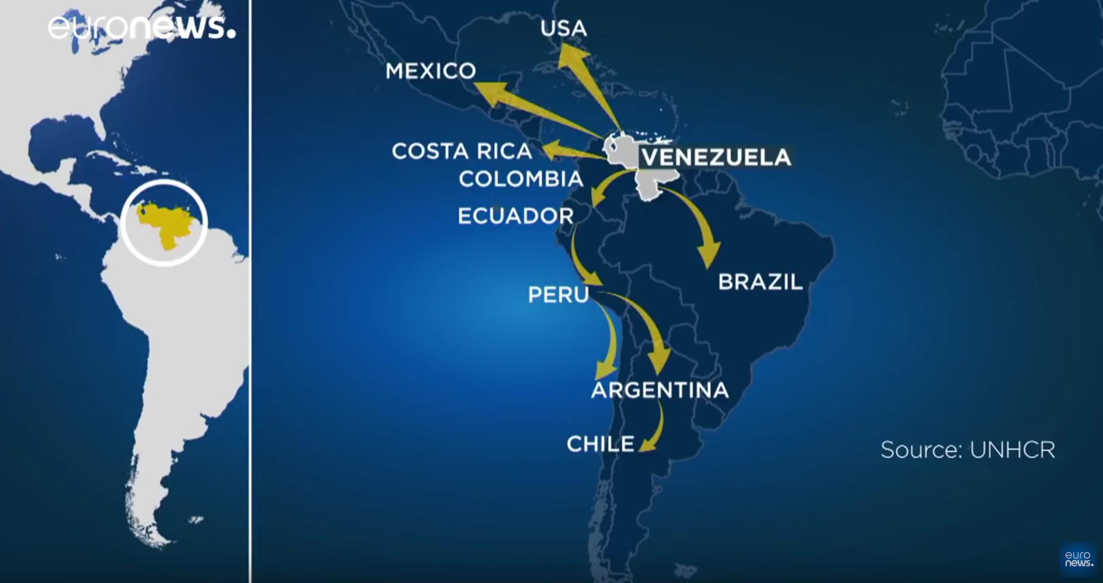 Le Pérou restreint l'entrée des clandestins vénézuéliens