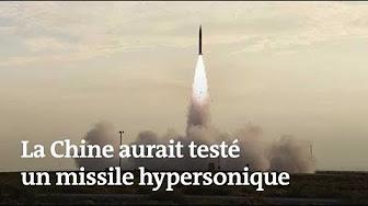 Un missile hypersonique chinois aurait volé à 7 344 km/h