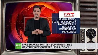 Facebook et Twitter suppriment des centaines de comptes liés à l'Iran