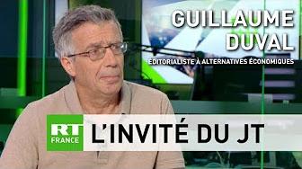 La France, « lanterne rouge de l'Europe sur le plan de l'activité économique » selon Guillaume Duval