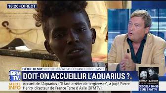 Invasion migratoire de l'Europe : Louis Aliot (Rassemblement National) VS Pierre Henry (France Terre d'Asile)