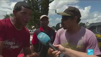 Invectives entre Brésiliens et réfugiés vénézuéliens à la frontière