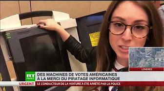États-Unis : les machines à voter américaines vulnérables au piratage